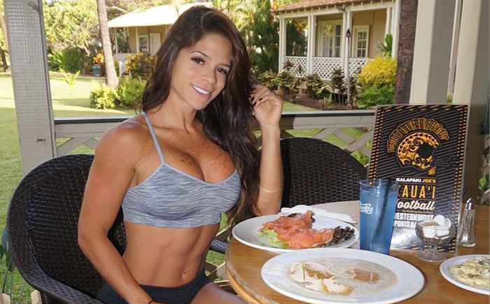 Porque la dieta de Michelle Lewin te hace sentir que entrenar es fácil