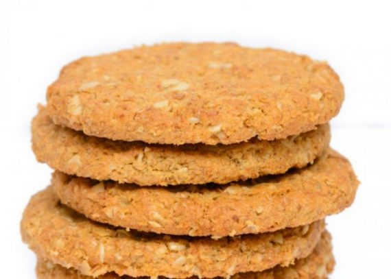 Galletas fitness microondas